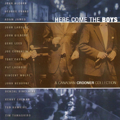 Album cover for Here come the boys